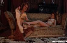 Glynis Barber having romance on film