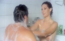 Cult actress Edwige Fenech nude in bath tub