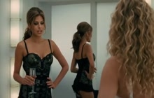 Eva Mendes in hot lingerie