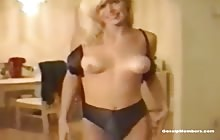 Hot blonde Gina Lee Nolin with her BF