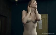 Sexy Brunette Deborah Francois Naked
