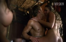 Hot and erotic scene from Spartacus