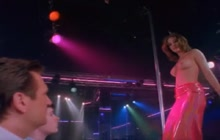 Nicole Eggert strip dance