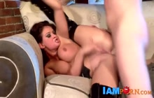 Rough anal with beautiful Tory Lane