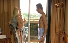 Italian busty beauty Victoria Silvstedt gets nude