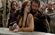 Hot scene in moive Camelot with Eva Green