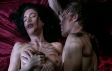 Jaime Murray passionate sex video