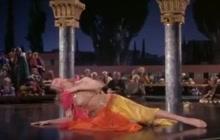 Rita Hayworth dancing in Salome Dance