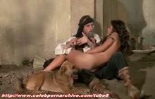 Catherine Zeta Jones in action