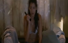 Stephanie Sigman teasing scene