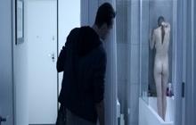 Softcore sex and shower scene with Jasmina Polak